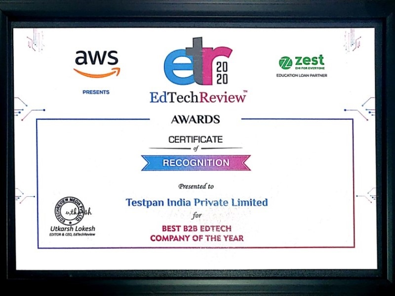 Best B2B EdTech Company of The Year-2020
